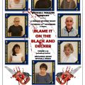BLAME IT ON THE BLACK AND DECKER A4 POSTER web